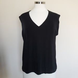 Chico's Travelers Size 3 Sleeveless Top XL Tank